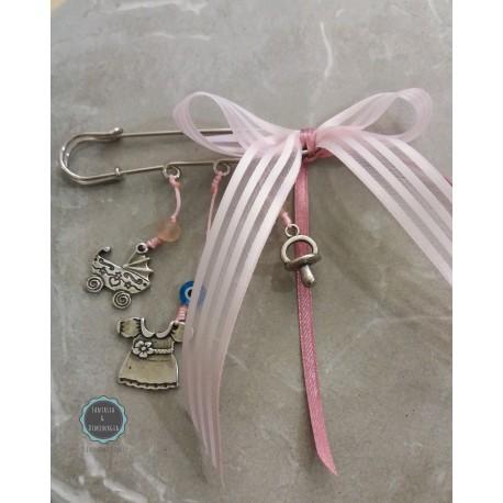 χειροποίητη διακοσμητική παραμάνα για κορίτσι (κωδ:003)
