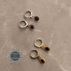 hoop earrings (κωδ:0265)