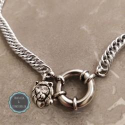 αλυσίδα για το λαιμό με λιοντάρι (κωδ:0247)
