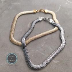 αλυσίδα φλατ φίδι για το πόδι (κωδ:010)