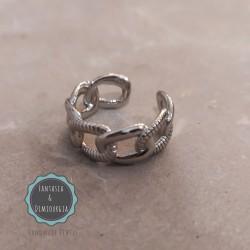 δαχτυλίδι αλυσίδα φαρδύ (κωδ:027)