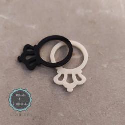 plexiglass δαχτυλίδι (κωδ:0016)