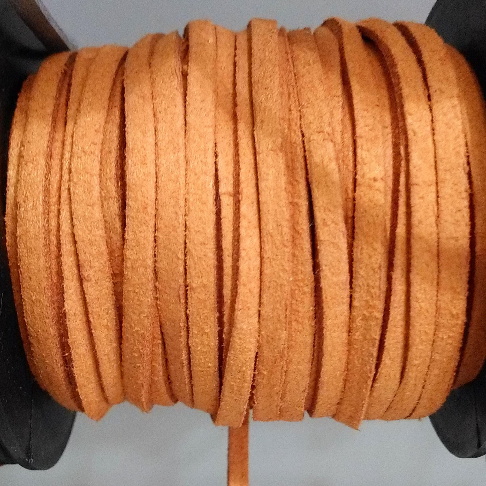 σκούρο πορτοκαλί σουέτ